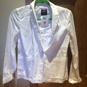 GAP White Blazer, NWT